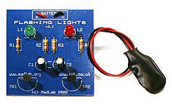 Incredible Madlab Electronic Kits Flashing Lights Wiring Cloud Philuggs Outletorg